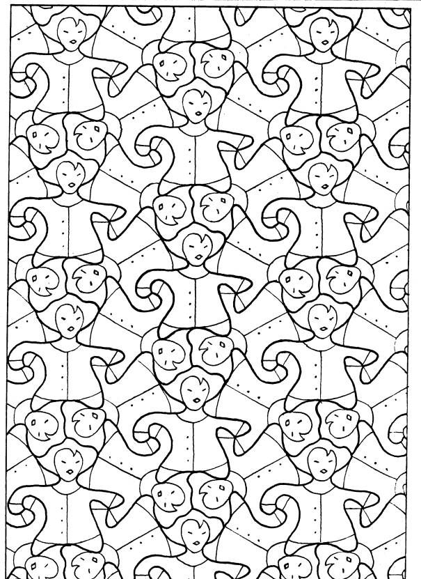 les pavages du plan graphismes et coloriages zen pinterest coloriage zen g om trie et zen. Black Bedroom Furniture Sets. Home Design Ideas
