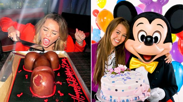 Fantastic Miley Cyrus Then And Now With Images Miley Cyrus Miley Cyrus Funny Birthday Cards Online Alyptdamsfinfo