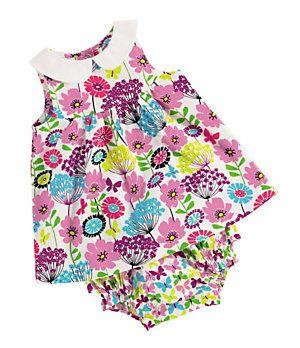 e763a30ac Vera Bradley 3-12 Months Dress & Bloomer Set   Dillard's Mobile ...
