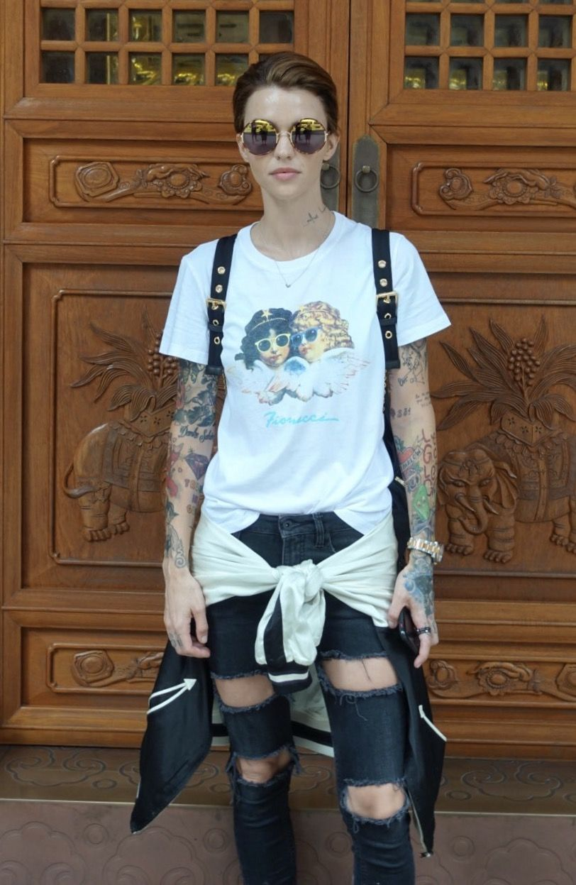 Tomboy Sex Xxx Amazing ruby rose never thought she'd make it as a maybelline cover girl