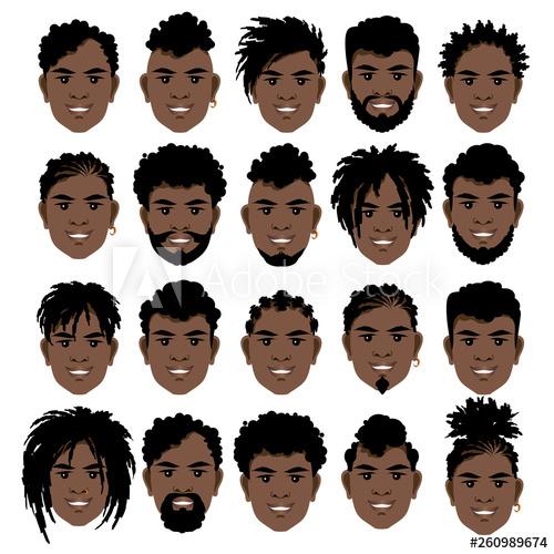 11+ Black hair man clipart ideas