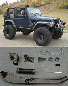1999 2006 Jeep Wrangler Tj Yj Air Intake Snorkel Kit System New Free Shipping 2006 Jeep Wrangler Jeep Wrangler Tj Jeep Wrangler