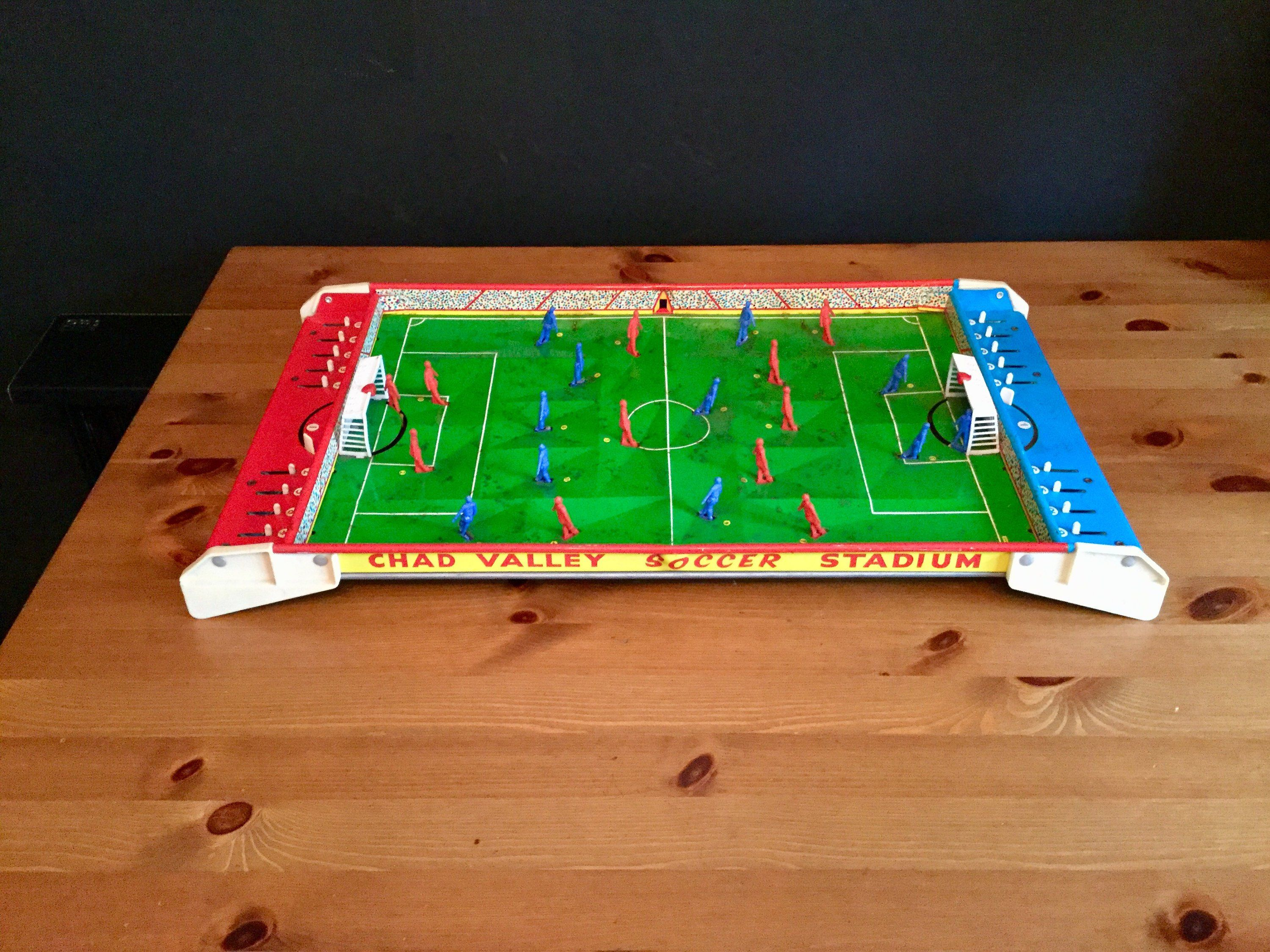 Vintage, Retro, 60s, Chad Valley, Soccer, game, tabletop