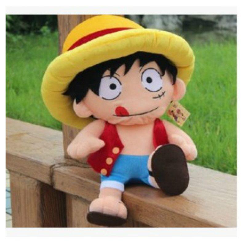 One Piece Monkey D Luffy Plush Toys Anime Figure Doll Me F4f