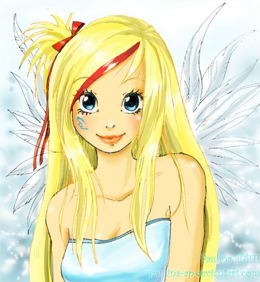 Аниме картинки друзья ангелов