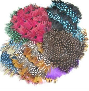 Lot of 10 Feather Pads. $19.00, via Etsy.