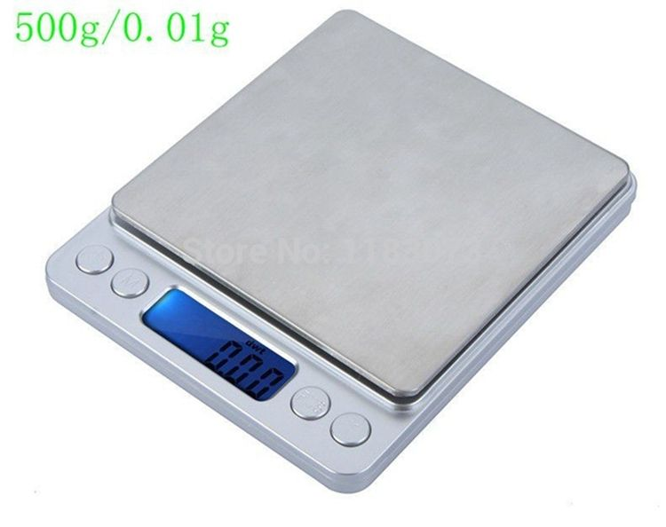 500g 0 01g Digital Pocket Jewelry Scale 500g 0 01 Food Kitchen Weighing Bench Scales Lcd Cookie Kitchen Measuring Tools Jewelry Scale Electronic Kitchen Scales