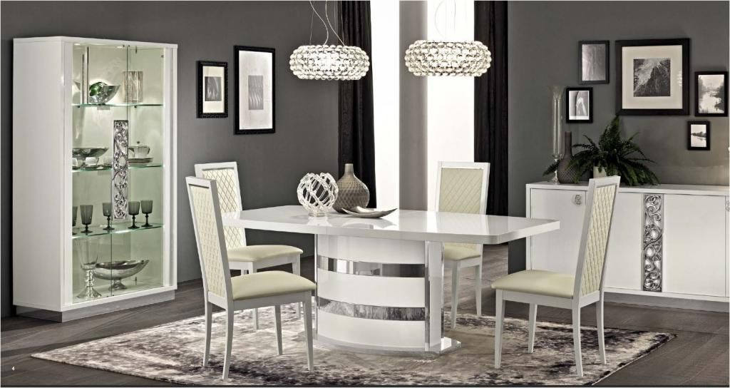 Italian Dining Tables For A Smart #kitchen Or #dining #room Inspiration High Gloss Dining Room Furniture Decorating Inspiration