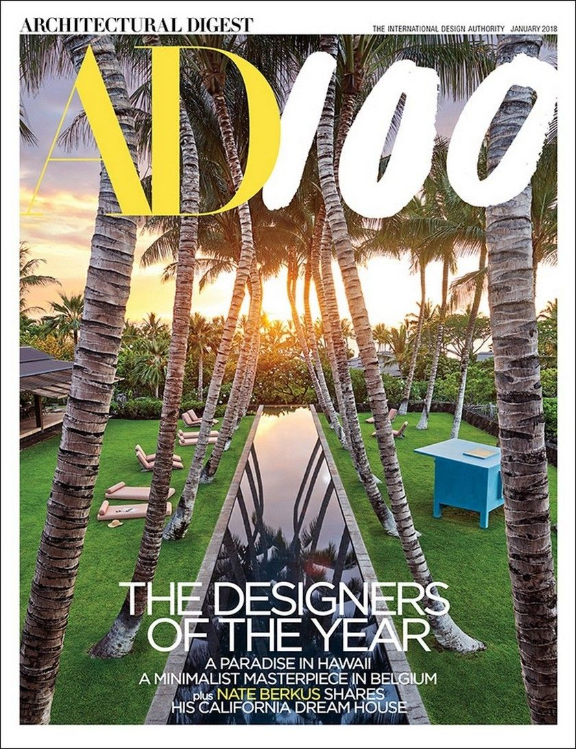 AD100 2018: Architectural Digest Releases Its Famous Annual List U2013 Daily  Design News