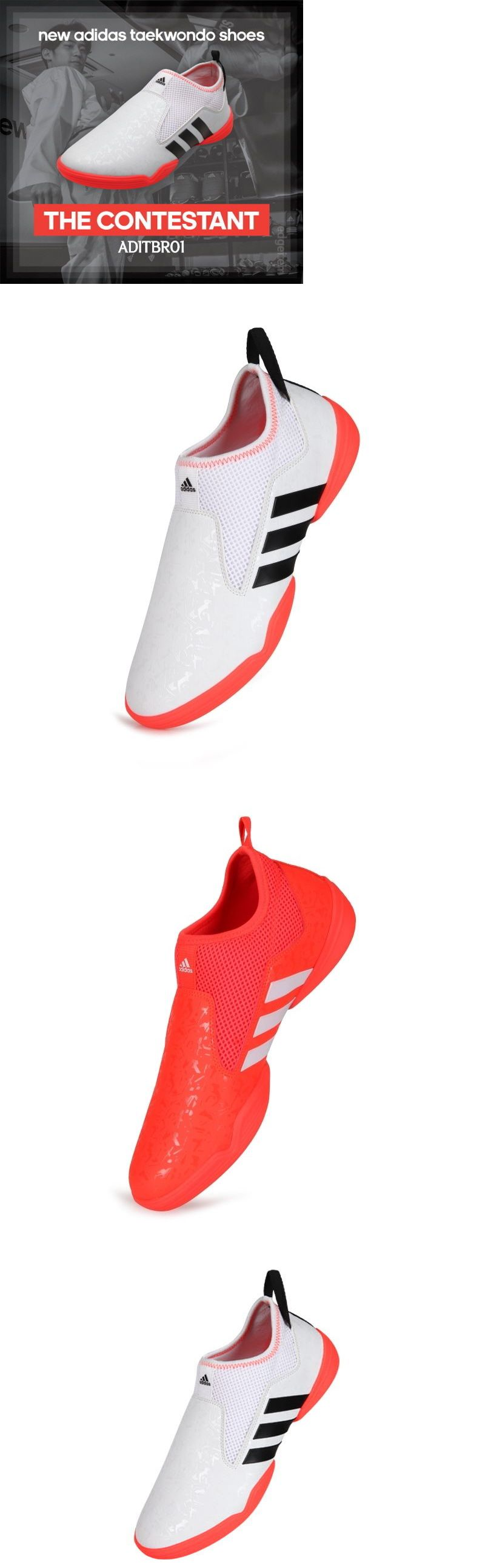 4941f62222b Clothing Shoes and Accessories 73980  Adidas The Contestant Taekwondo Shoes  White Orange Aditbr01 Tkd Combat Sports -  BUY IT NOW ONLY   113.4 on  eBay  ...