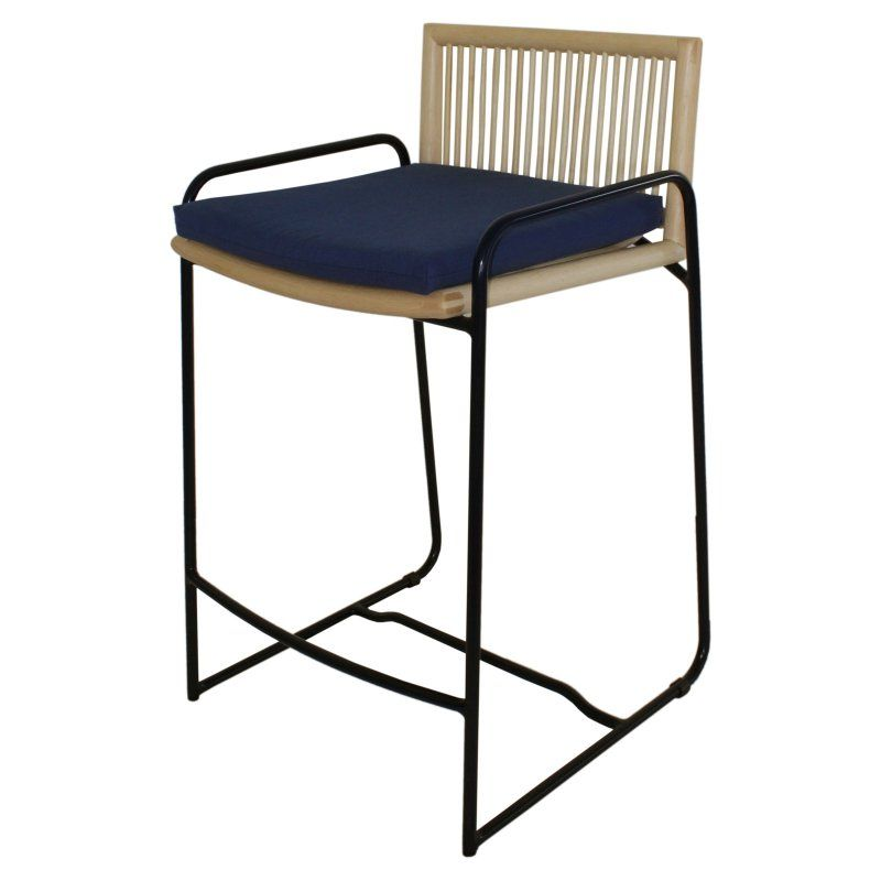 New Pacific Direct Inc Virza 27 In Rattan Counter Stool
