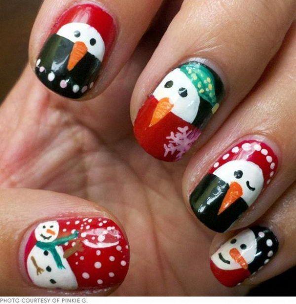 Cool Christmas Nail Designs Httphativecool Christmas Nail