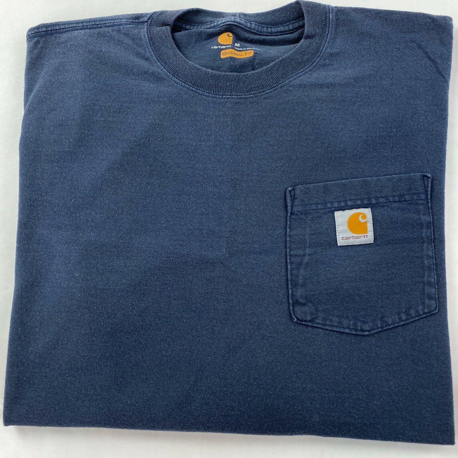 Carhartt Herren T-Shirt Workw Pocket T-Shirt S//S Heather Grey