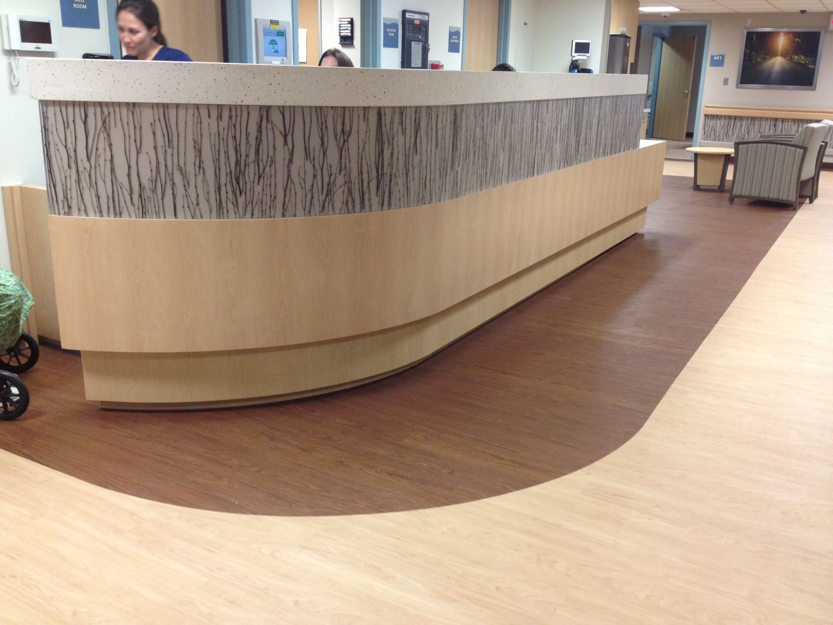 Lumicor Reception Desk | Healthcare | Pinterest | Reception desks ...