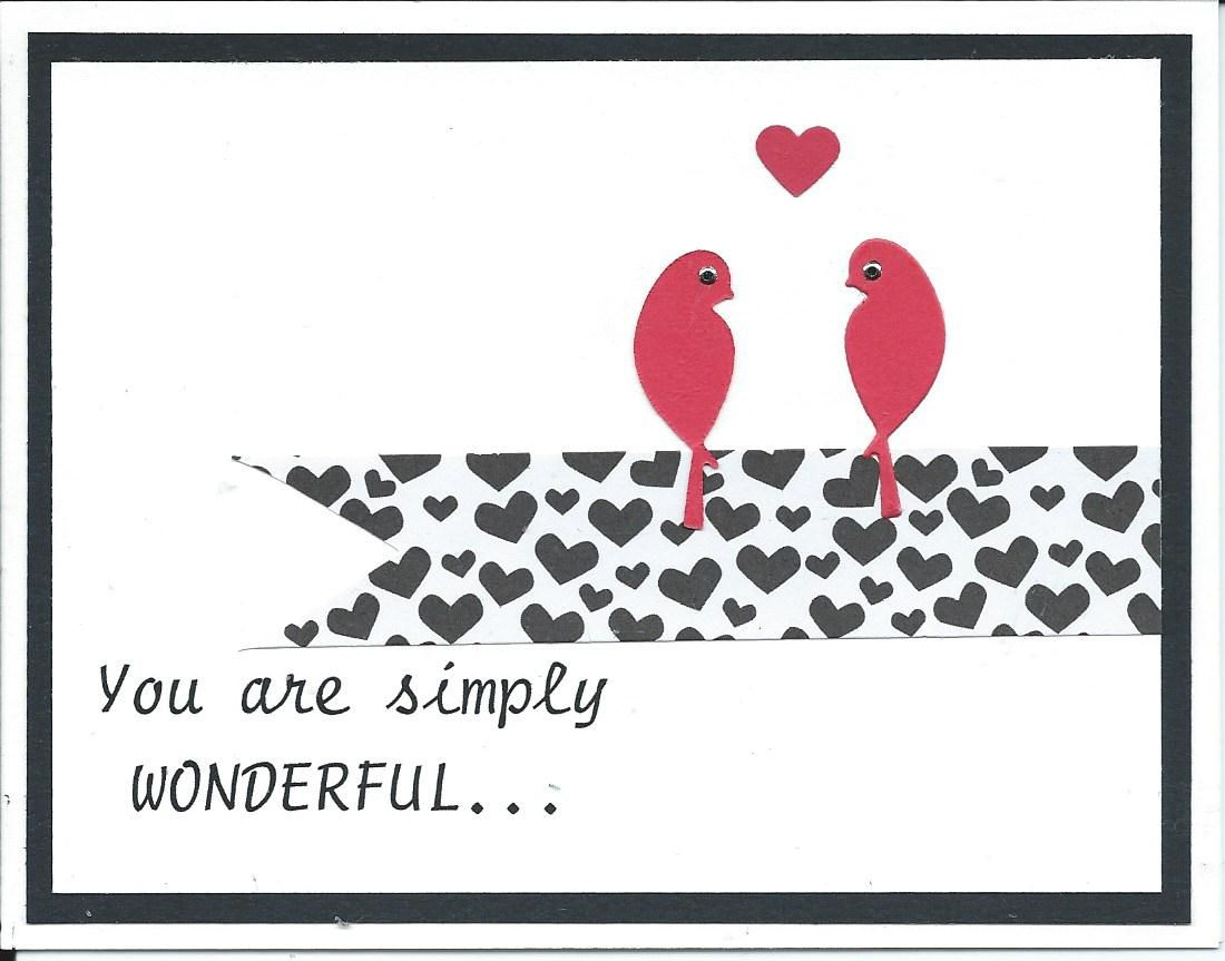 Font is script from american greetings birds are a die cut heart font is script from american greetings birds are a die cut heart is a kristyandbryce Images