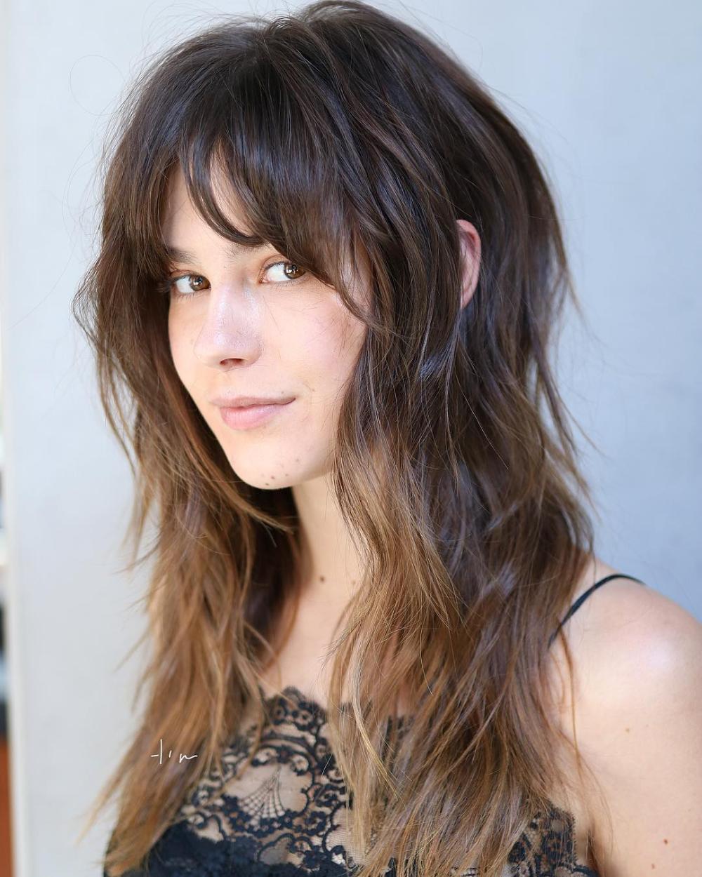Pin on longer hair