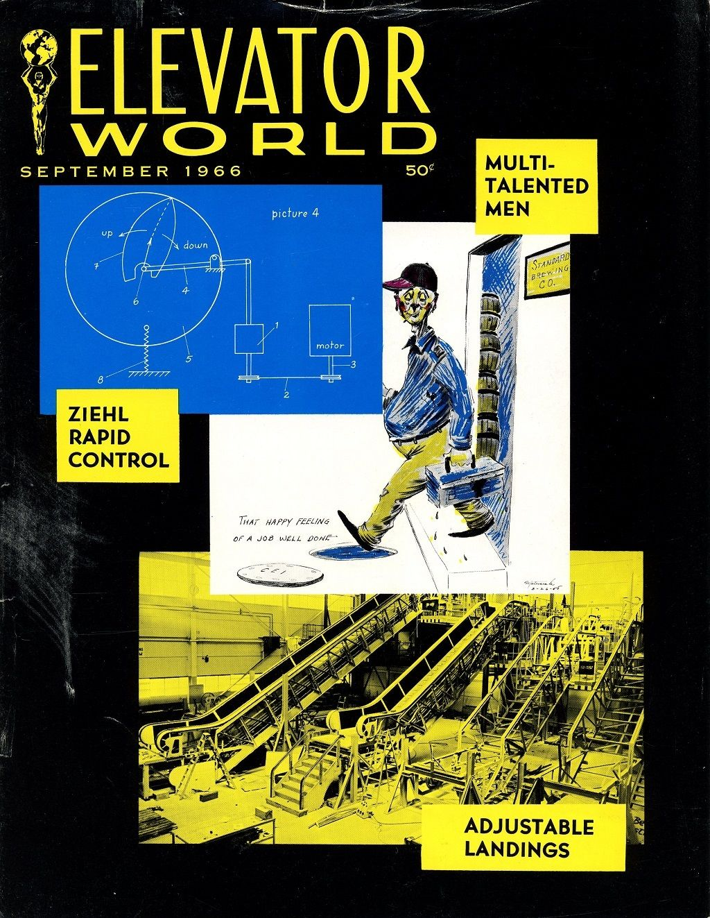 #TBT to this September 1966 cover of ELEVATOR WORLD! http://buff.ly/2cFCunR