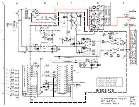 0-24VDC Digital PIC Power Supply - Schematic Design Circuitos