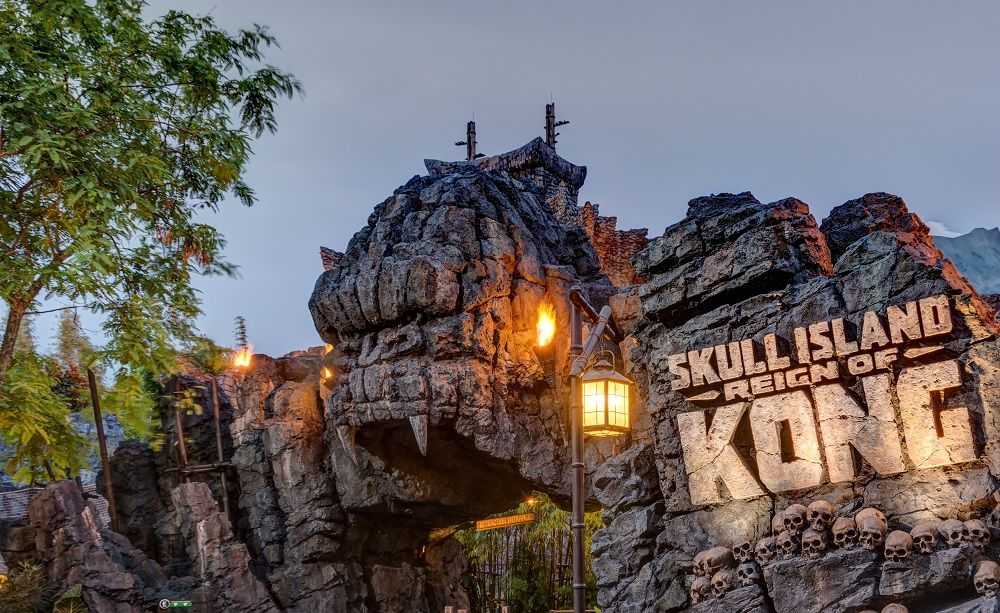 Skull Island: Reign of Kong at Universal's Islands of Adventure