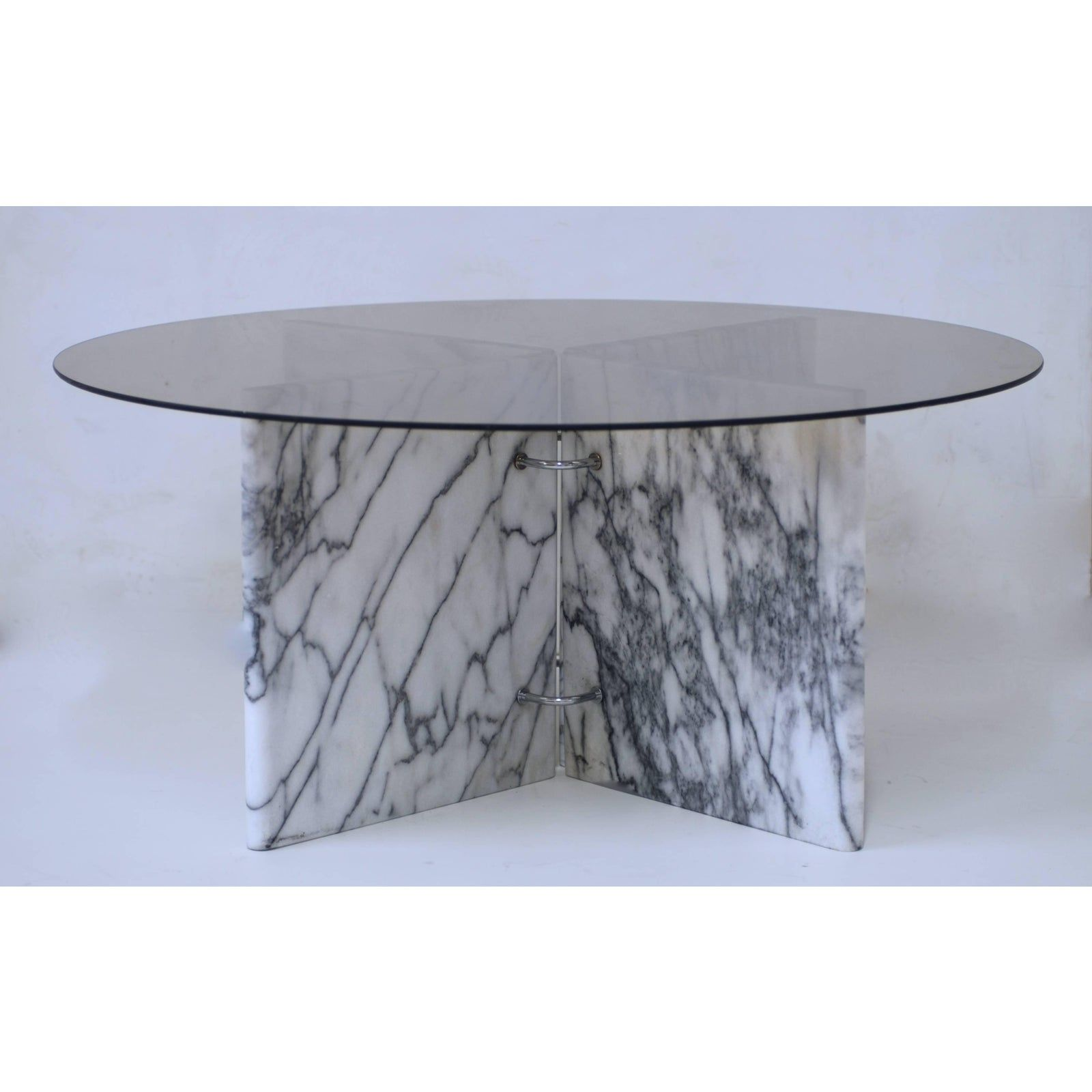 Low Carrara Square Or Rectangular Or Round Glass And Marble Cocktail Table Base In 2021 Marble Cocktail Table Round Glass Table Round Glass Coffee Table [ 1600 x 1600 Pixel ]