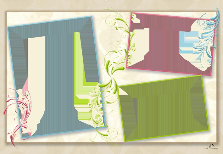 Plantilla Child 29x42 Para La Creacion De Foto Libros Fondo Blanco Con Hojas En Tono Beige Adornado Con Ramillete Background Powerpoint Photo Frame Scrapbook