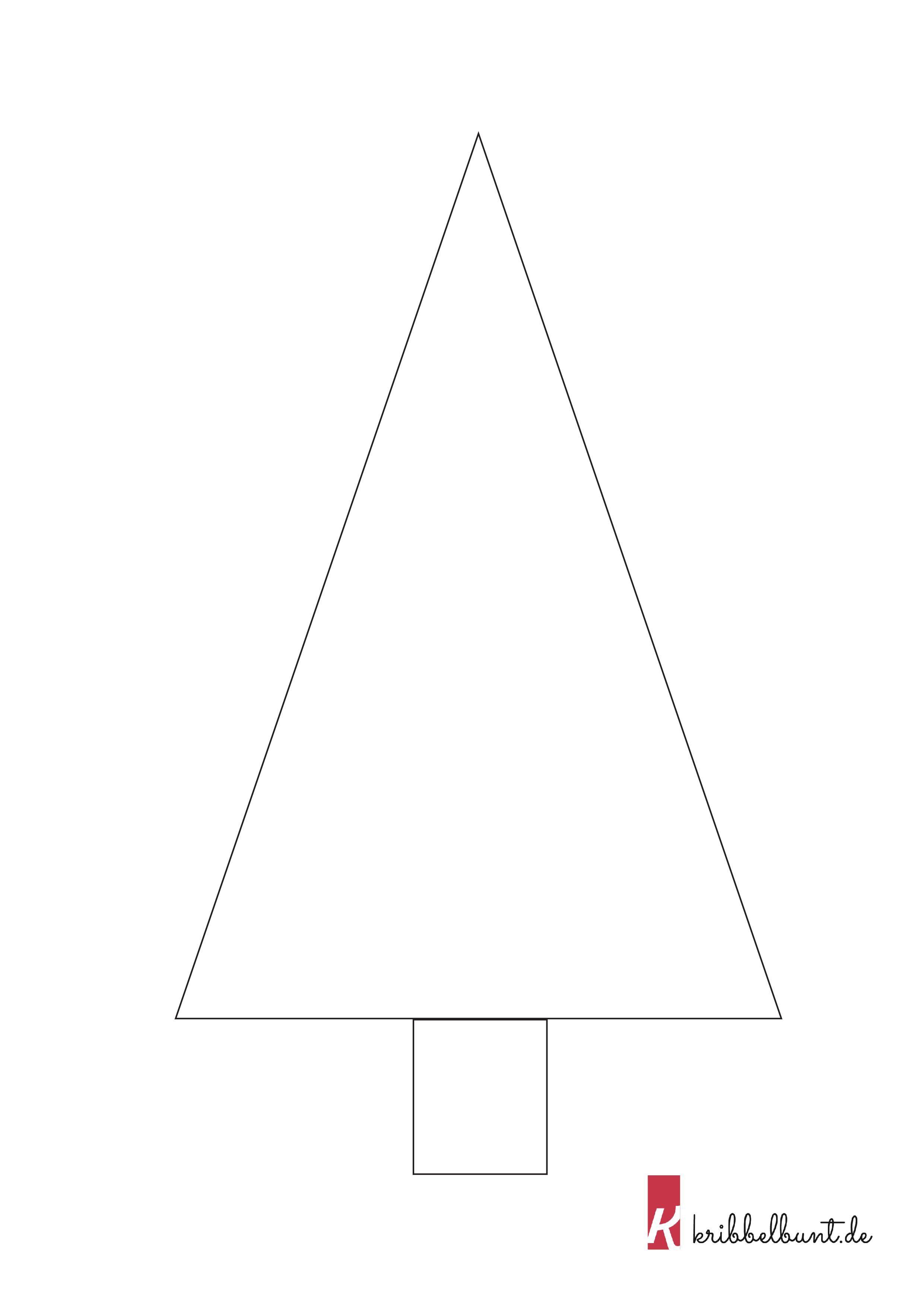 tannenbaumvorlage 4  tannenbaum vorlage weihnachtsbaum