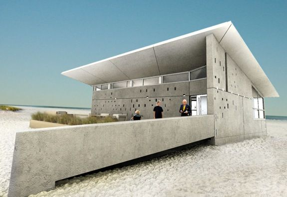 Team New Jersey Is Using Precast Concrete With Passive Solar Design