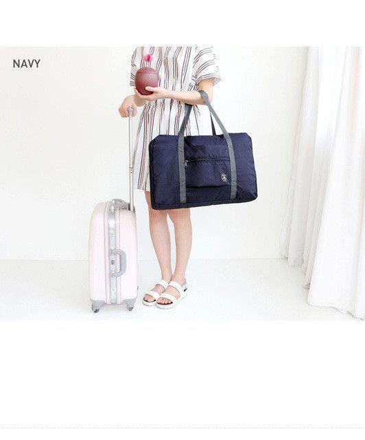 65b5a709cabc Portable Travel Handbag Folding High Capacity Trolley Bag ...