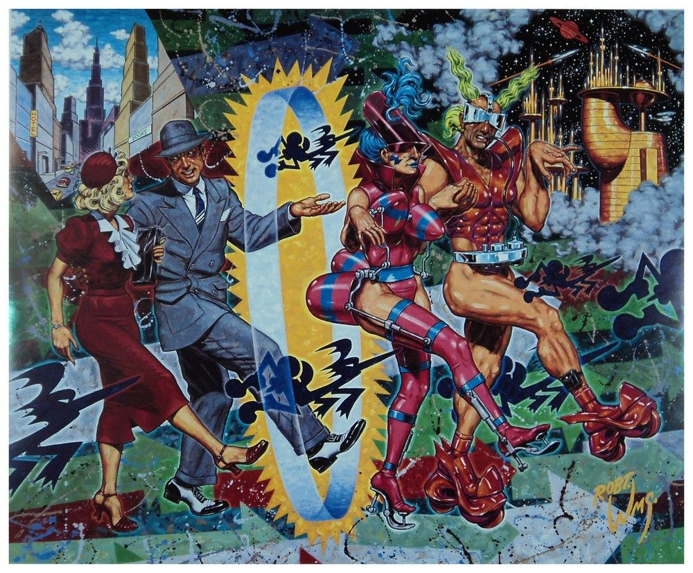 Robert Williams - Vanity of the New - 1992 - Print | Art ...