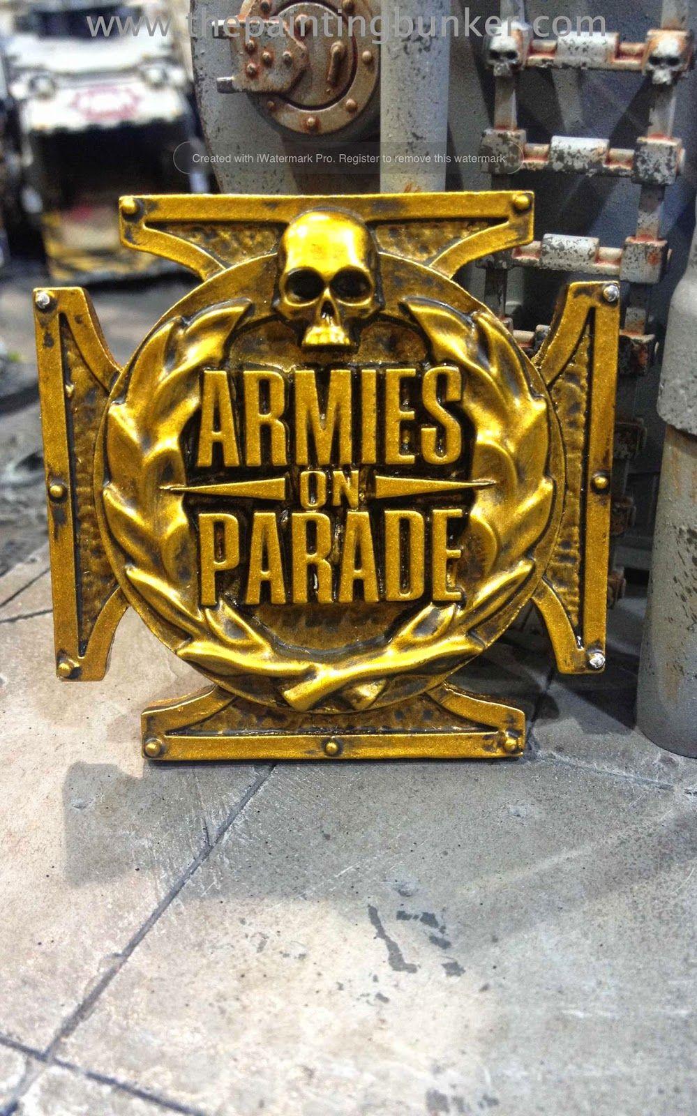 El Descanso del Escriba: Esperando informaciones solidas de Armies on Parad...