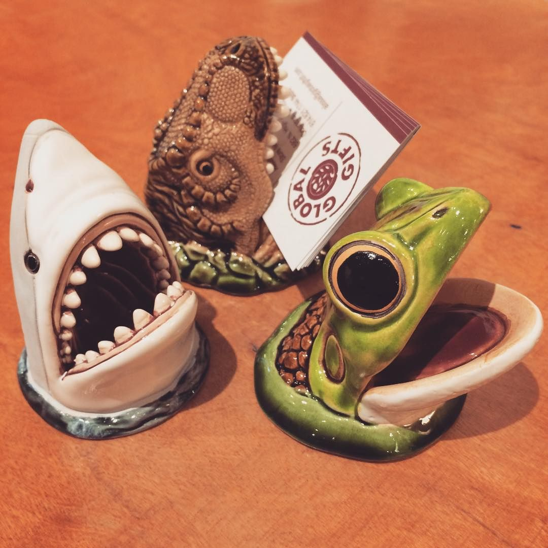 Funny #ceramic business card holders make great gifts for the ...