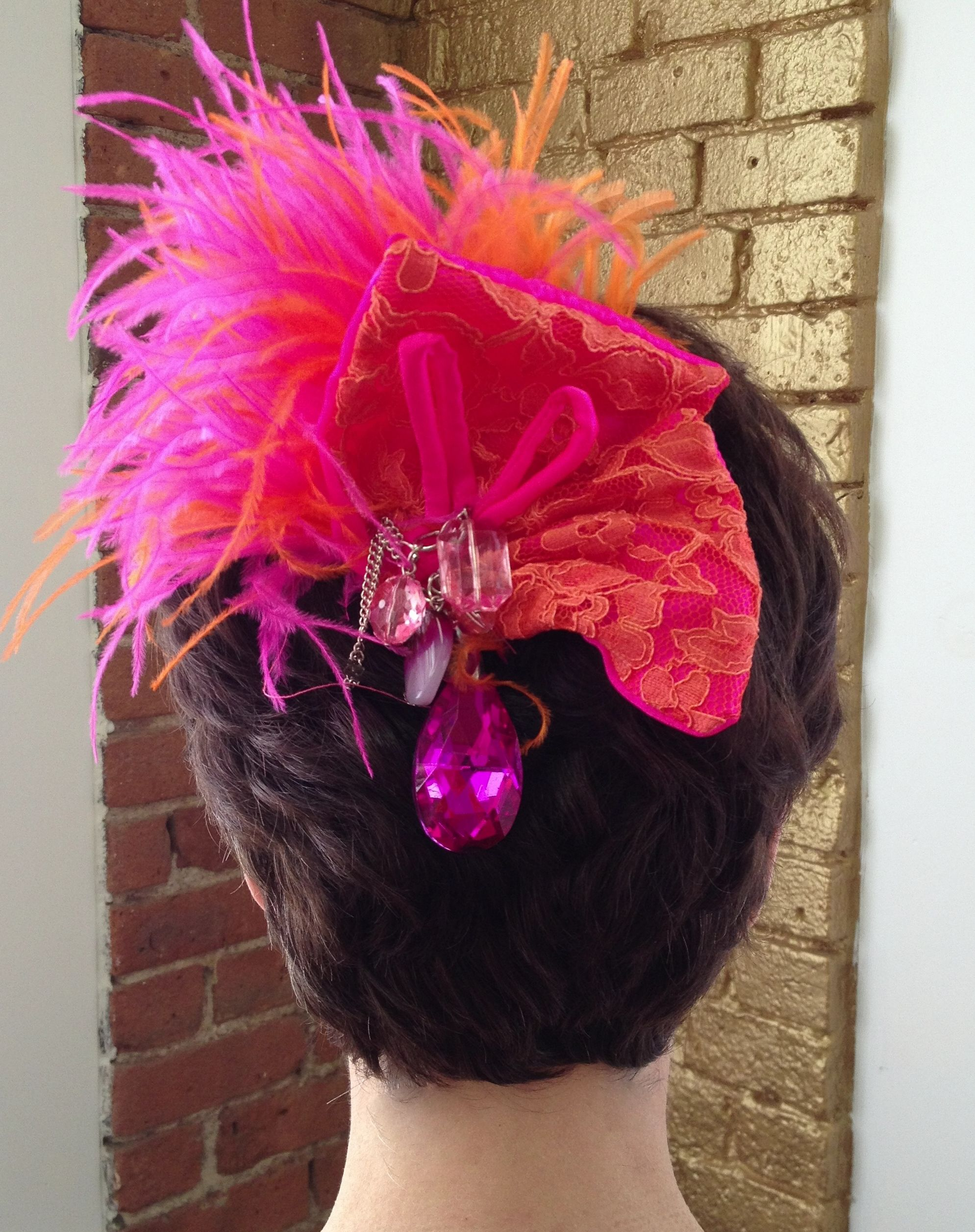 Add Some Color To Your Day With This Wild And Funky Hair Clip Find Pin More On My Big Fat American Gypsy Wedding Season 2