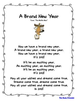 Here is one New Year's poem freebie that's part of my ...