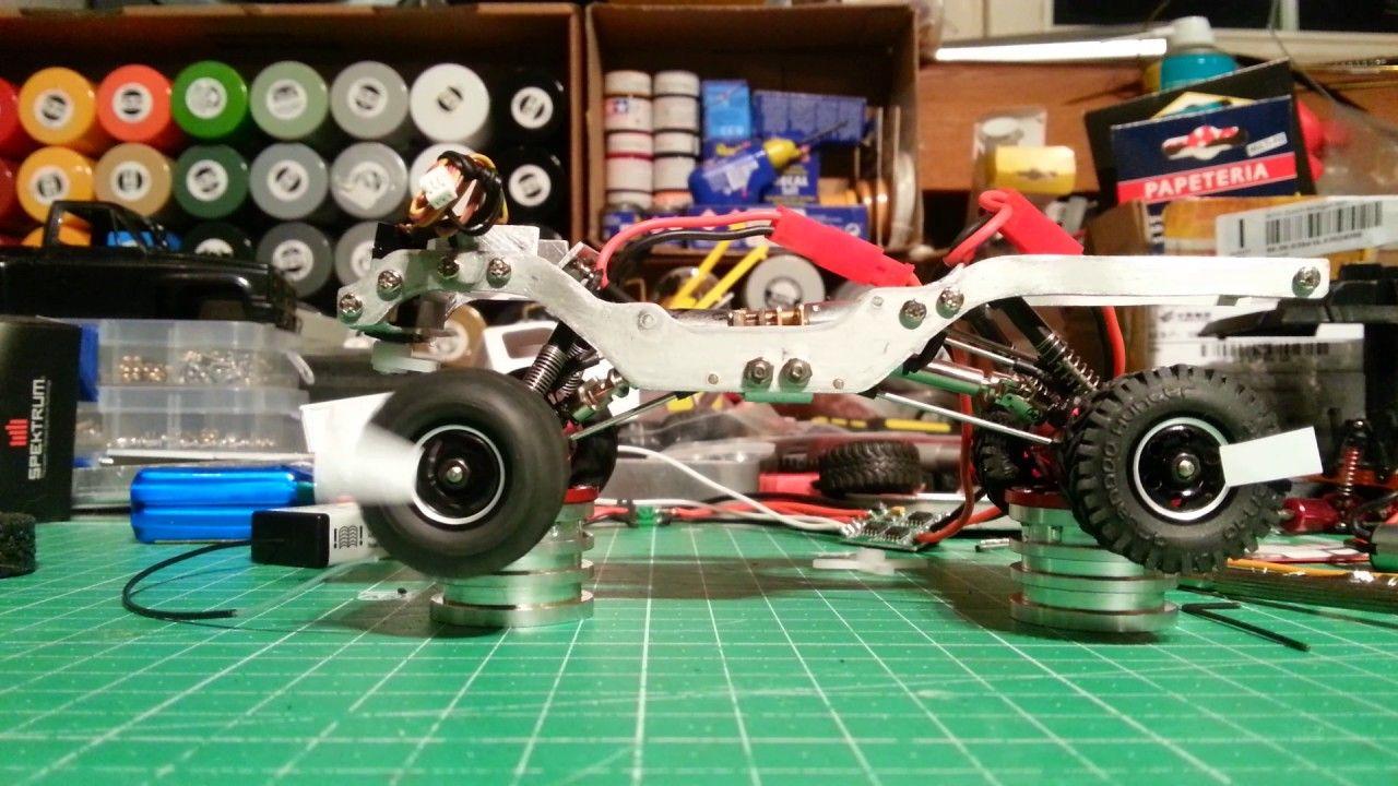 Orlandoo Hunter 1/35 Custom Build with Dual Motor DIG Setup