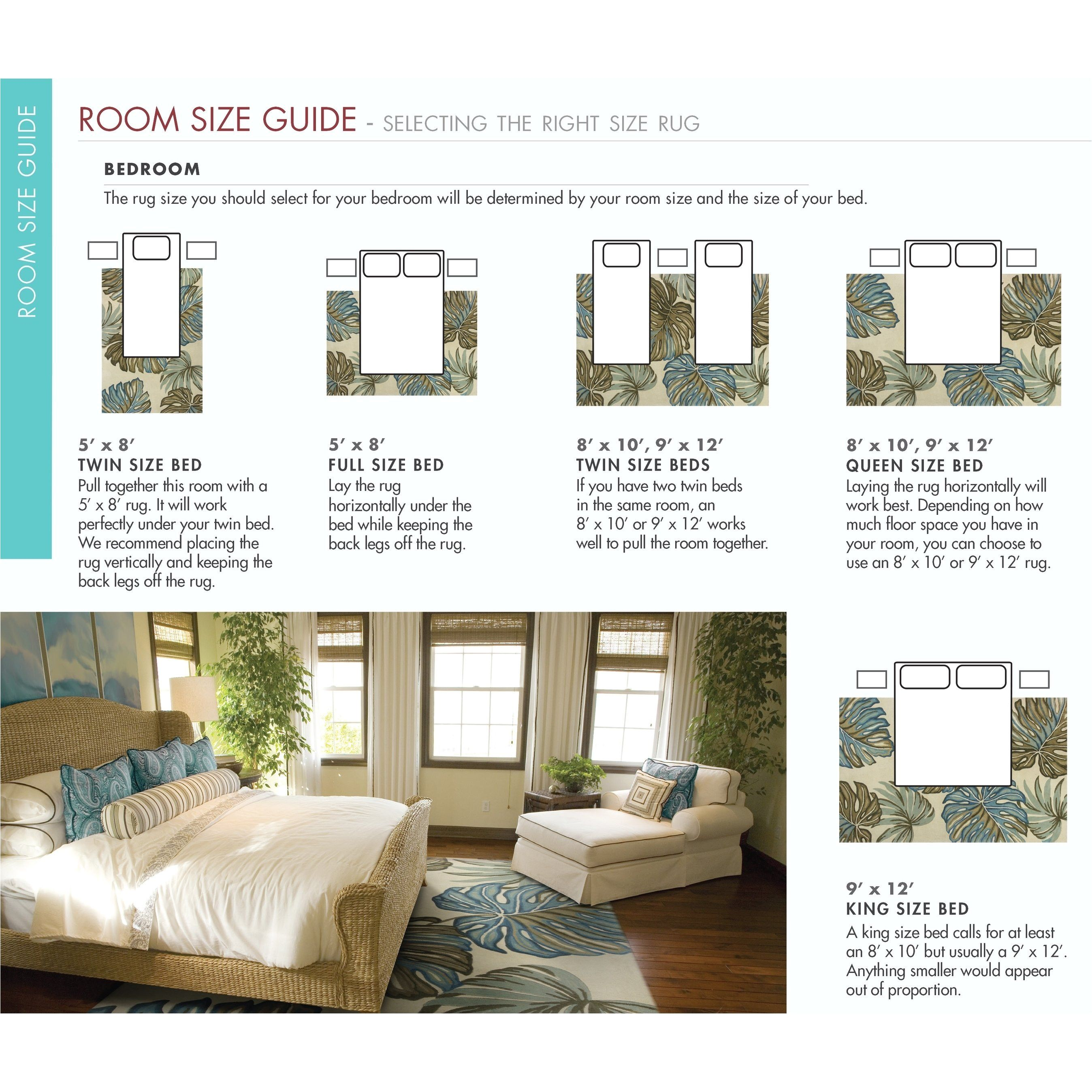 What Size Rug Under Full Or Queen Bed Google Search Rug Size King Bed Queen Beds King Beds