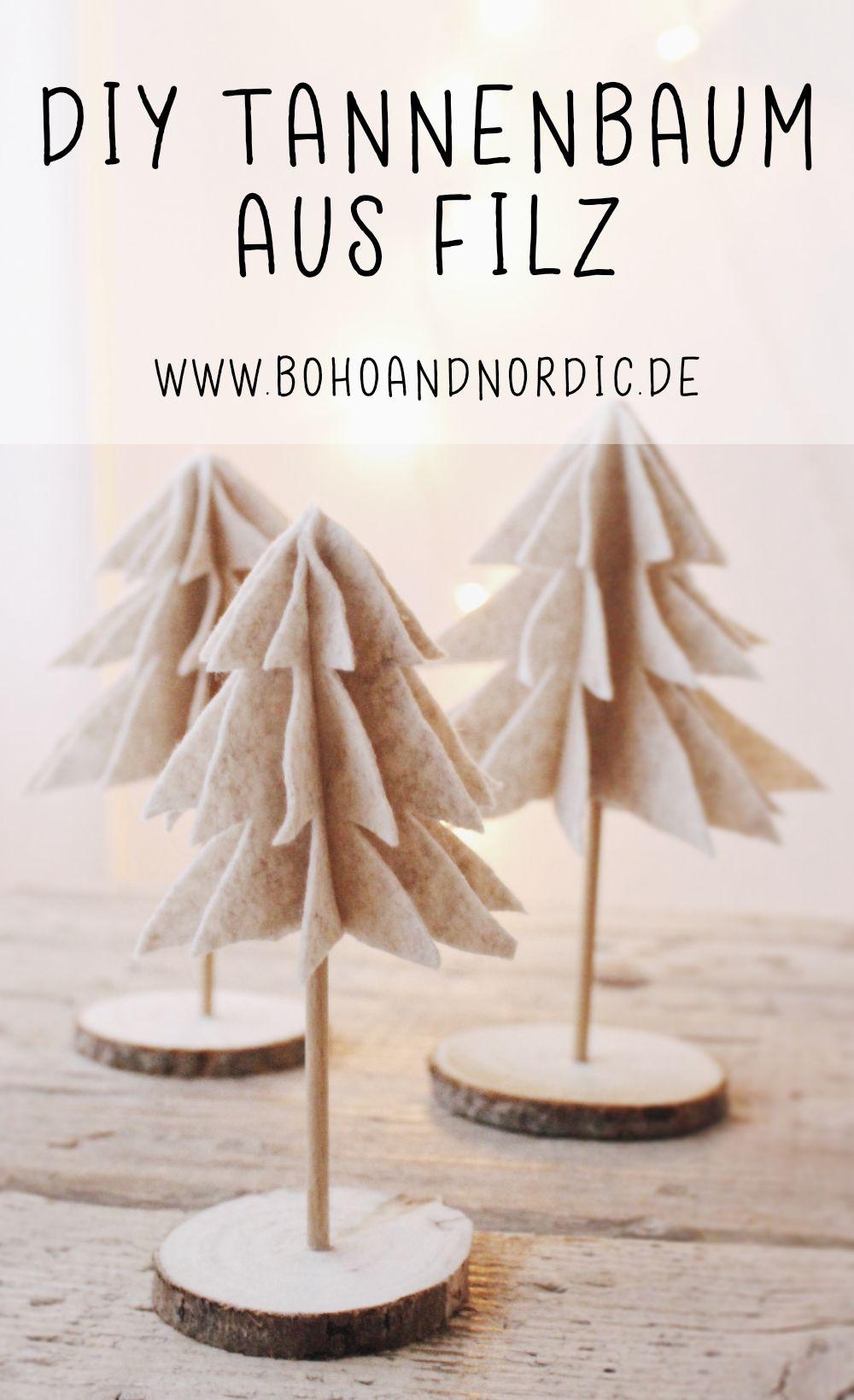 diy weihnachtsdeko tannenbaum im skandinavischen stil ideen von boho and nordic. Black Bedroom Furniture Sets. Home Design Ideas
