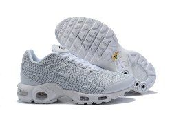 43a6fc4121a7 Nike Air Max Plus SE TN Just Do It White White Black White 862201-103  Sneakers Men s Women s Shoes