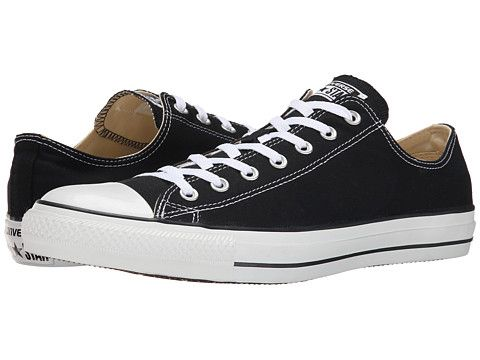 236eed9d1629 Converse Chuck Taylor® All Star® Core Ox Black - Zappos.com Free Shipping  BOTH Ways