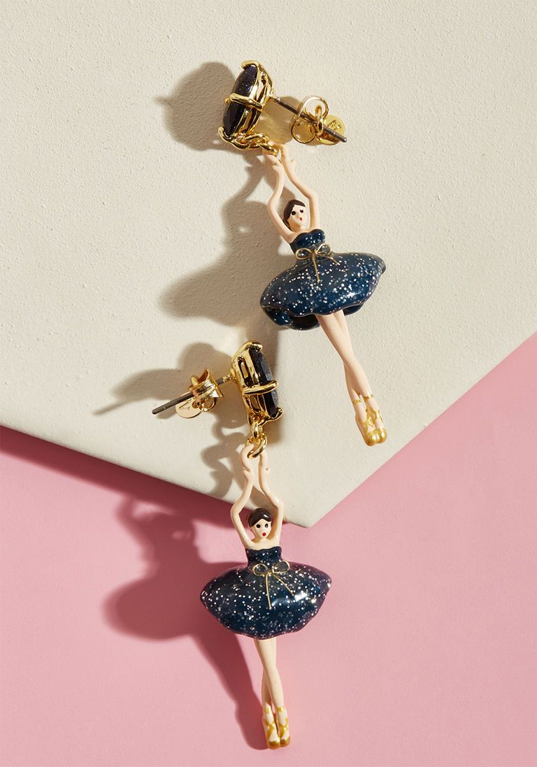Red Ballet girl necklace Les nereides Australian shop