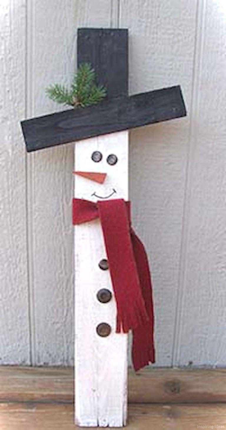 0036 Easy Diy Wooden Christmas Craft Ideas Holly Dayz Holidays