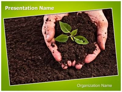Soil powerpoint template is one of the best powerpoint for Importance of soil for kids