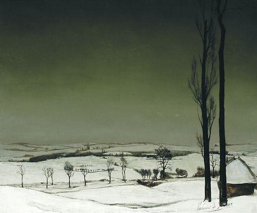 valerius de saedeleer, winter landscape