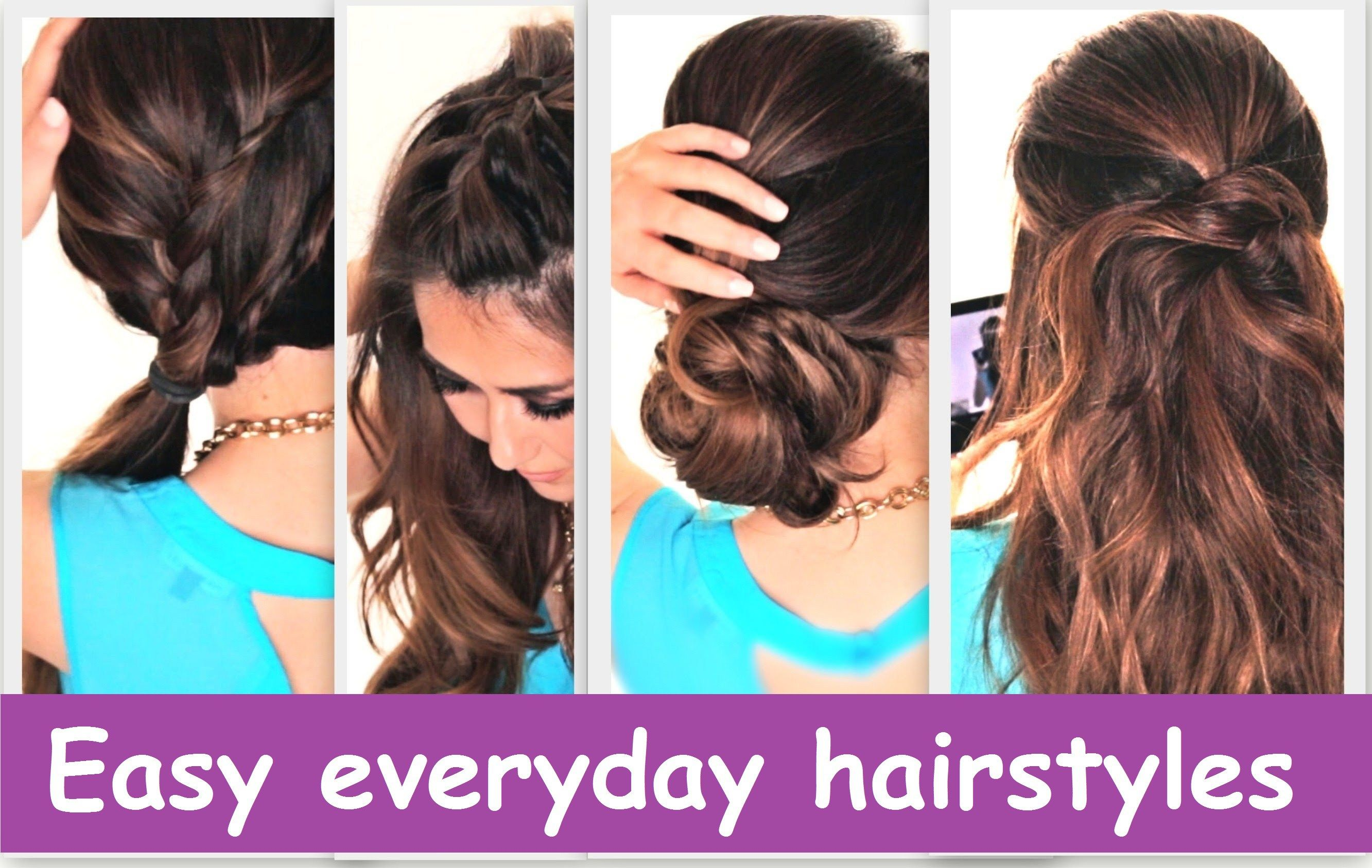 The best easy everyday hairstyles images collection related to easy