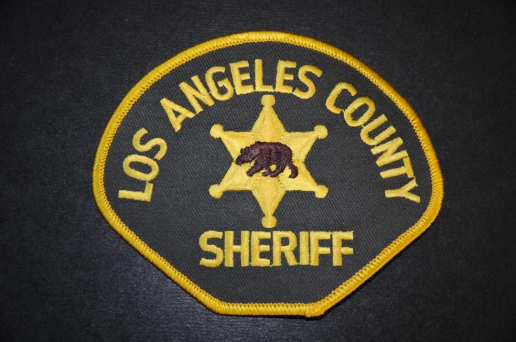 Los Angeles County Sheriff Patch California Current 1961 Issue County Sheriffs Police Patches Sheriff