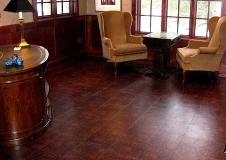 Leather flooring is one of the most interesting floorings for Leather flooring