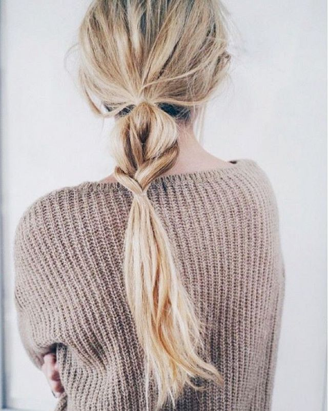A new take on the classic braid. #hairstyle