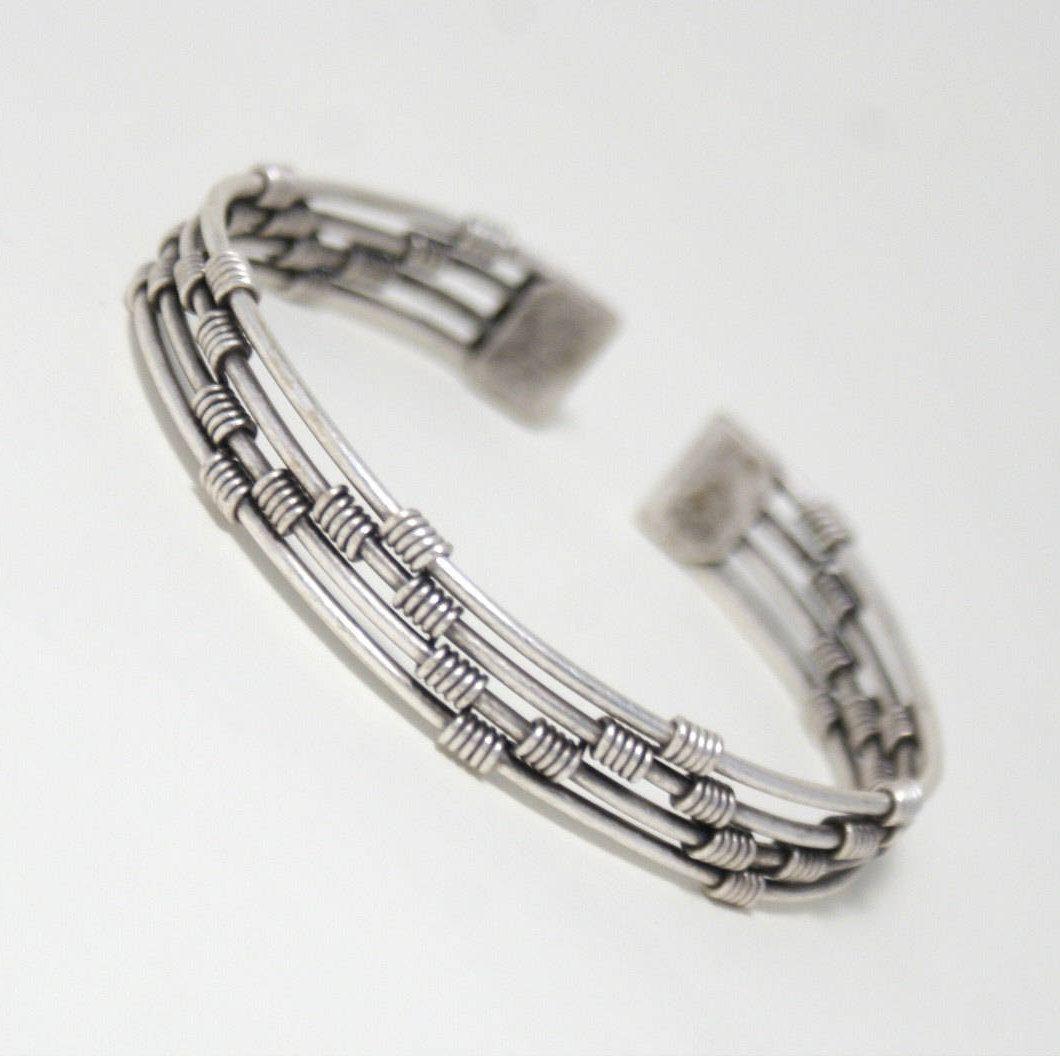 Men bracelet silver mens bracelet men jewelry mens cuff bracelet