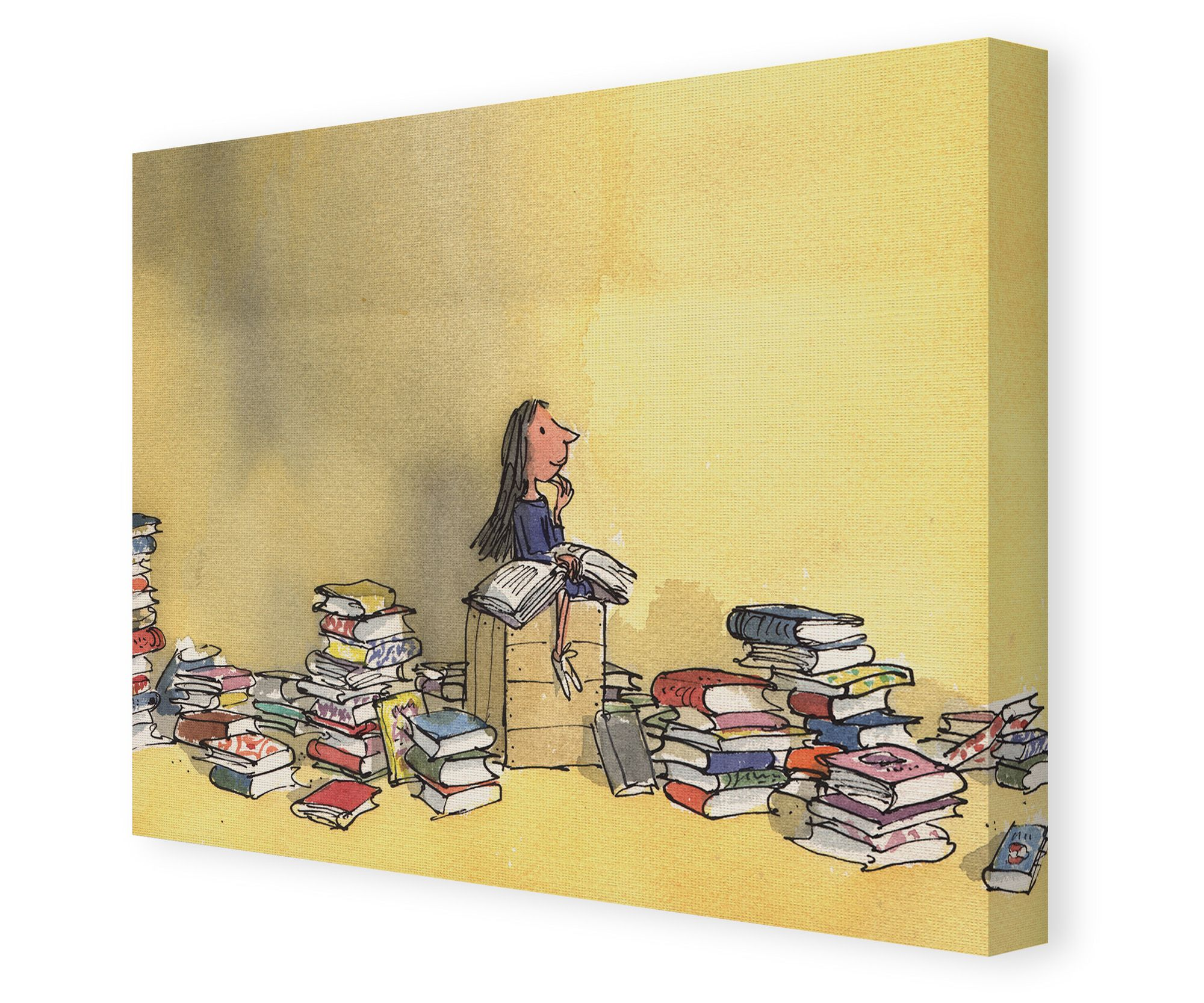 Roald Dahl\'s Matilda Canvas Wall Art. In 1945, Tove Jansson\'s first ...