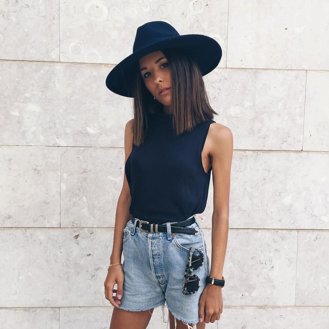 // Pinterest @esib123 //  #style #inspo #fashion denim shorts