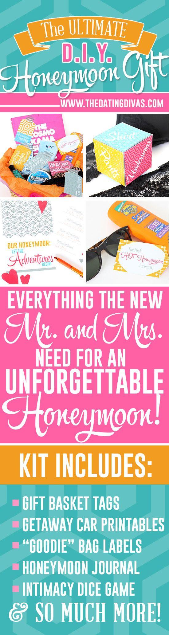 DIY Honeymoon Gift Best wedding gifts, Wedding gifts for